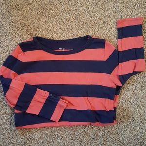 Salmon & Navy GAP shirt